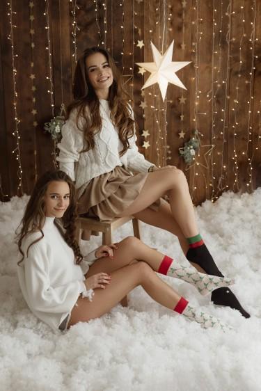 LET IT SNOW - set of 3 models of socks